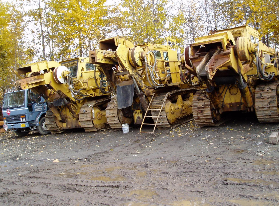 USED ROCK TRENCHERS